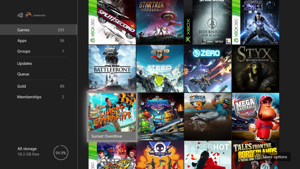A list of 293 Xbox digital games