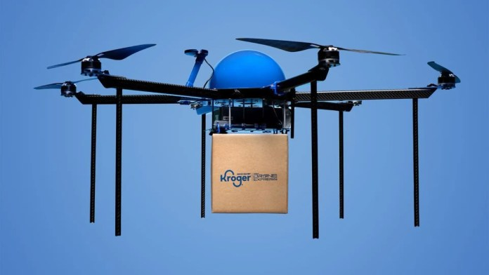 Kroger drone grocery delivery