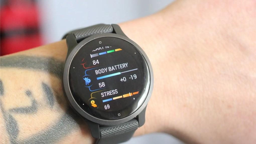 Tính năng Body Battery trên Venu 2S