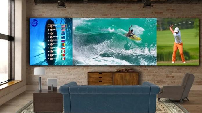 LG Ultrawive DVLED TV
