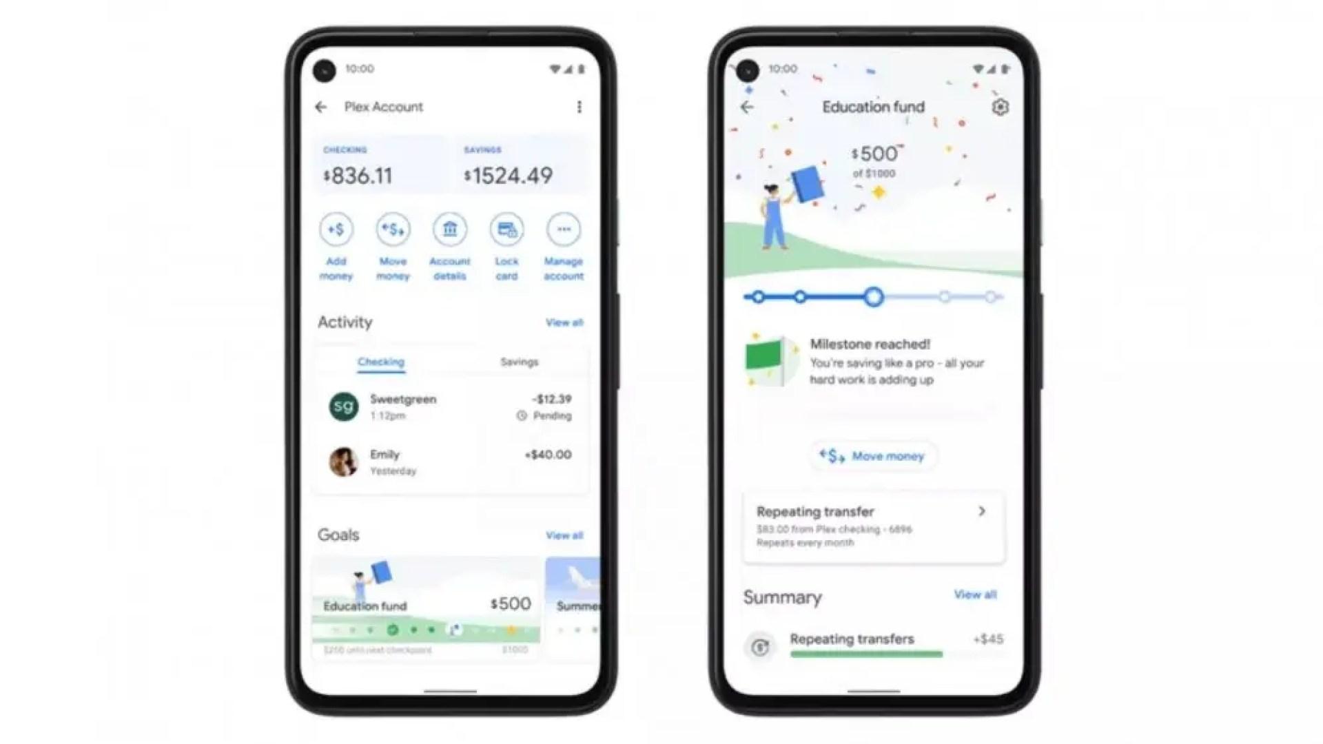 Google Pay Insights tab