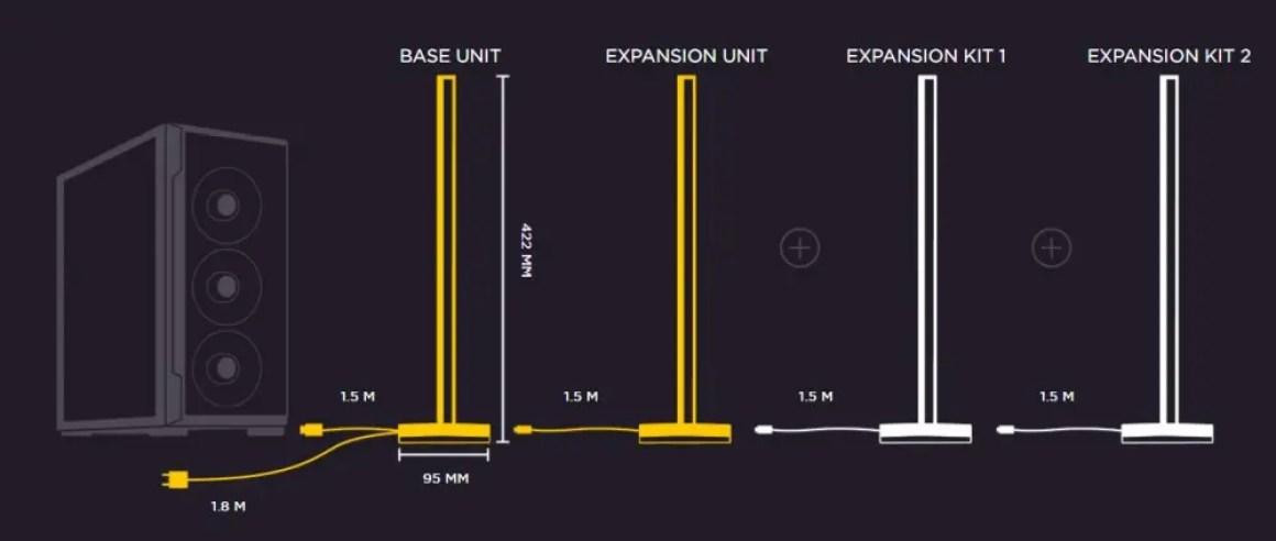 Схема осветительной вышки Corsair