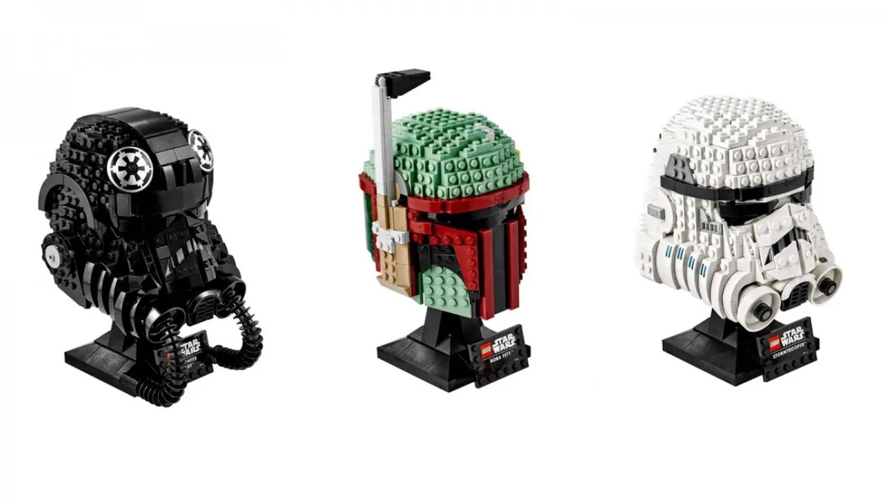 Серия шлемов LEGO Star Wars