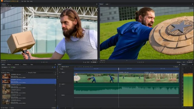 HitFilm Express offers a surprisingly capable publisher for free, although some options require a paid update.