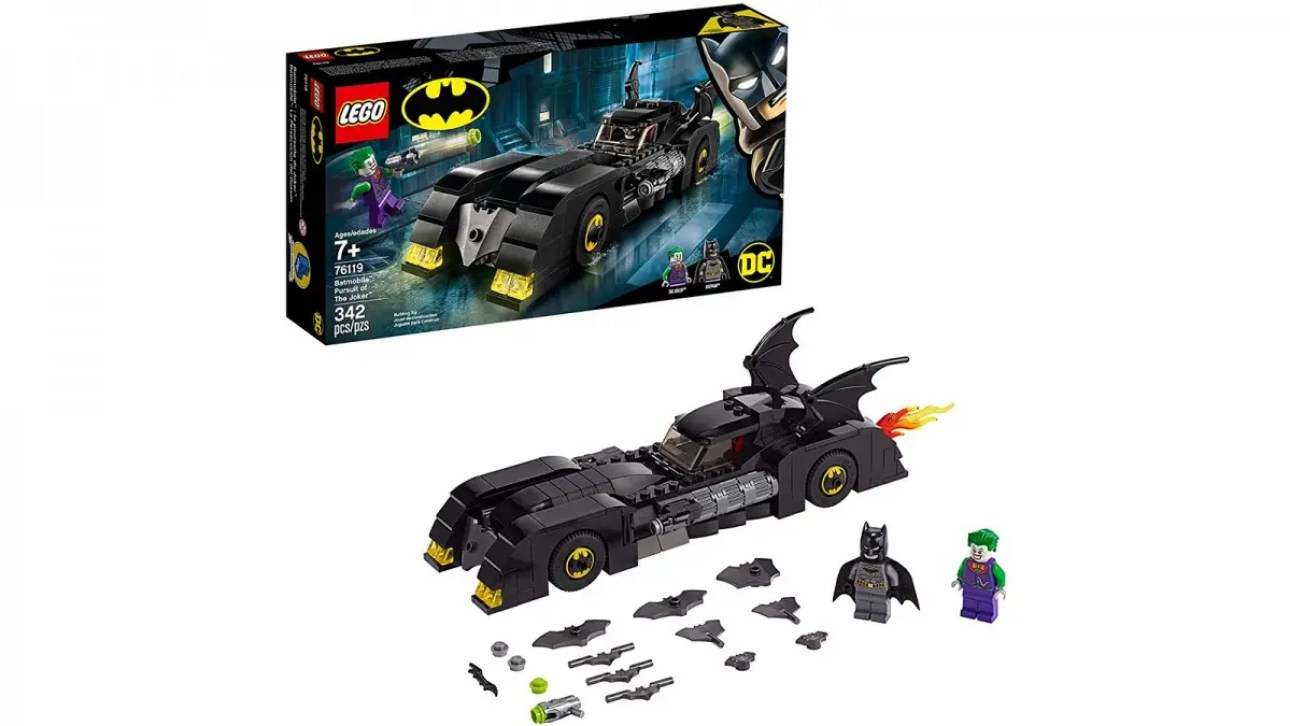 LEGO DC Superheroes Batmobile: Погоня за Джокером