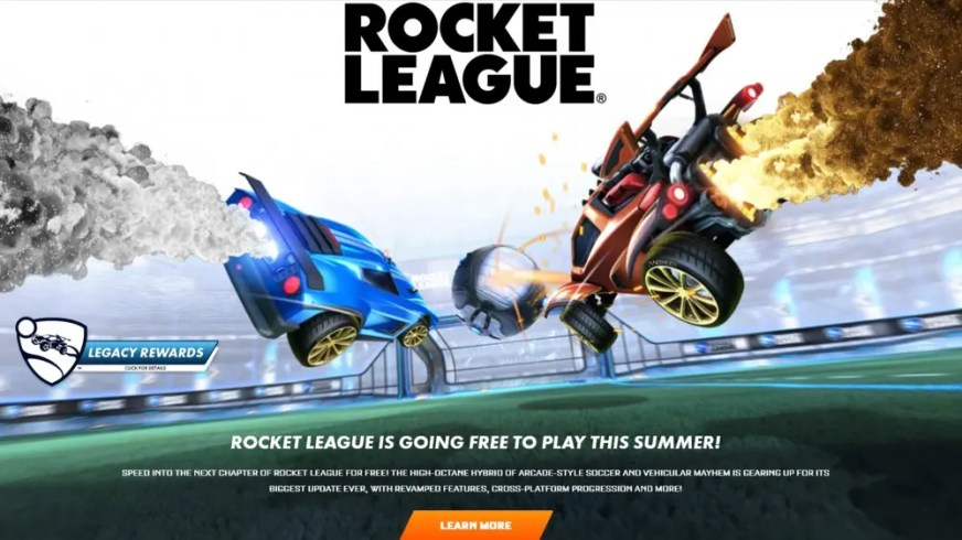 'Rocket League' Is Going Free to Play on All Platforms ...