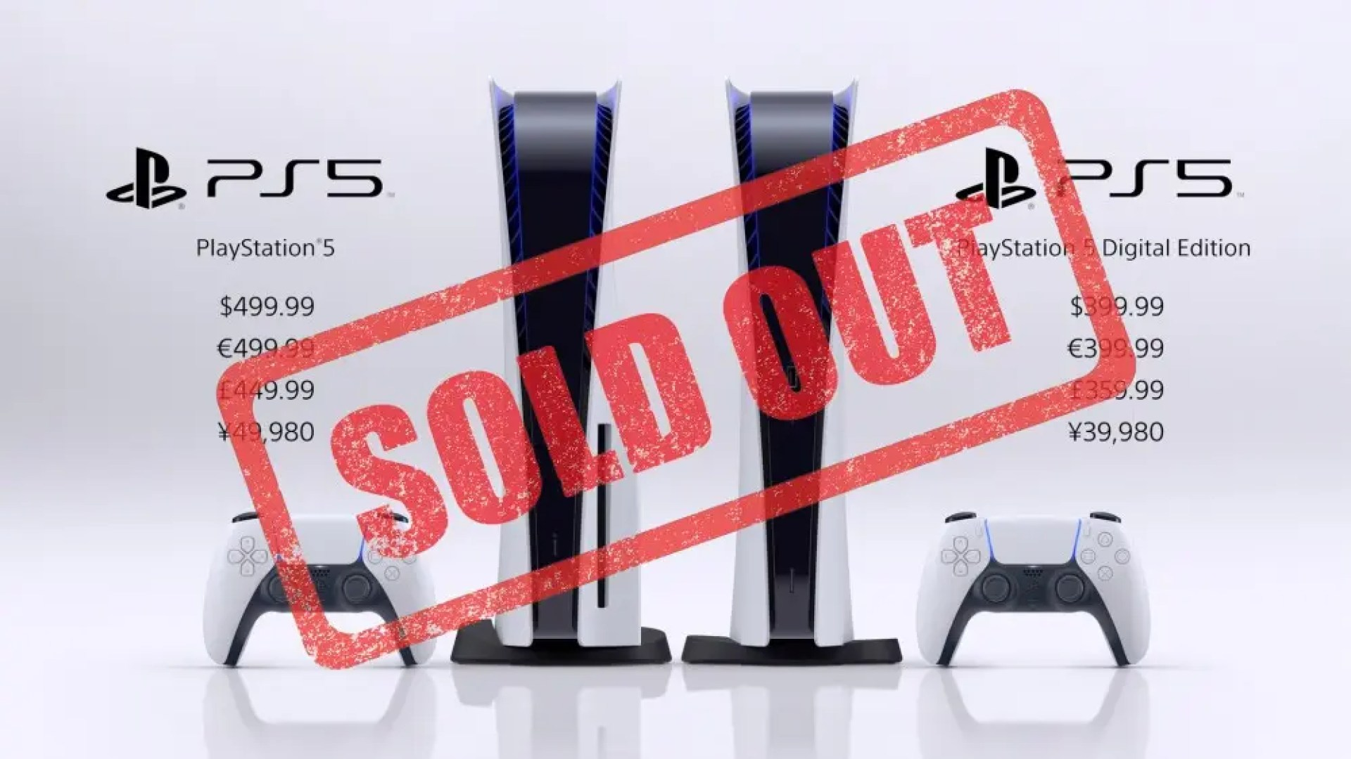 PS5 Preorders Are Sold Out, Here's How to Get Notified When They're  Available – Review Geek - TECHTELEGRAPH