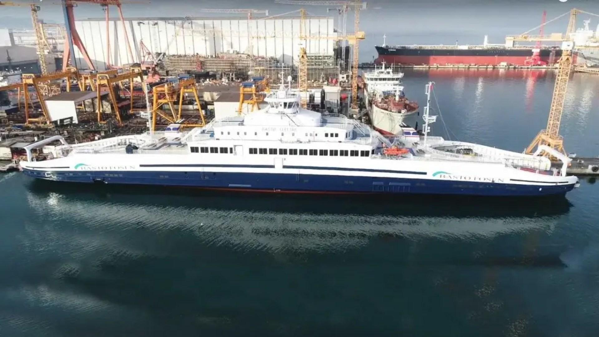Norway's Basto Electric ferry
