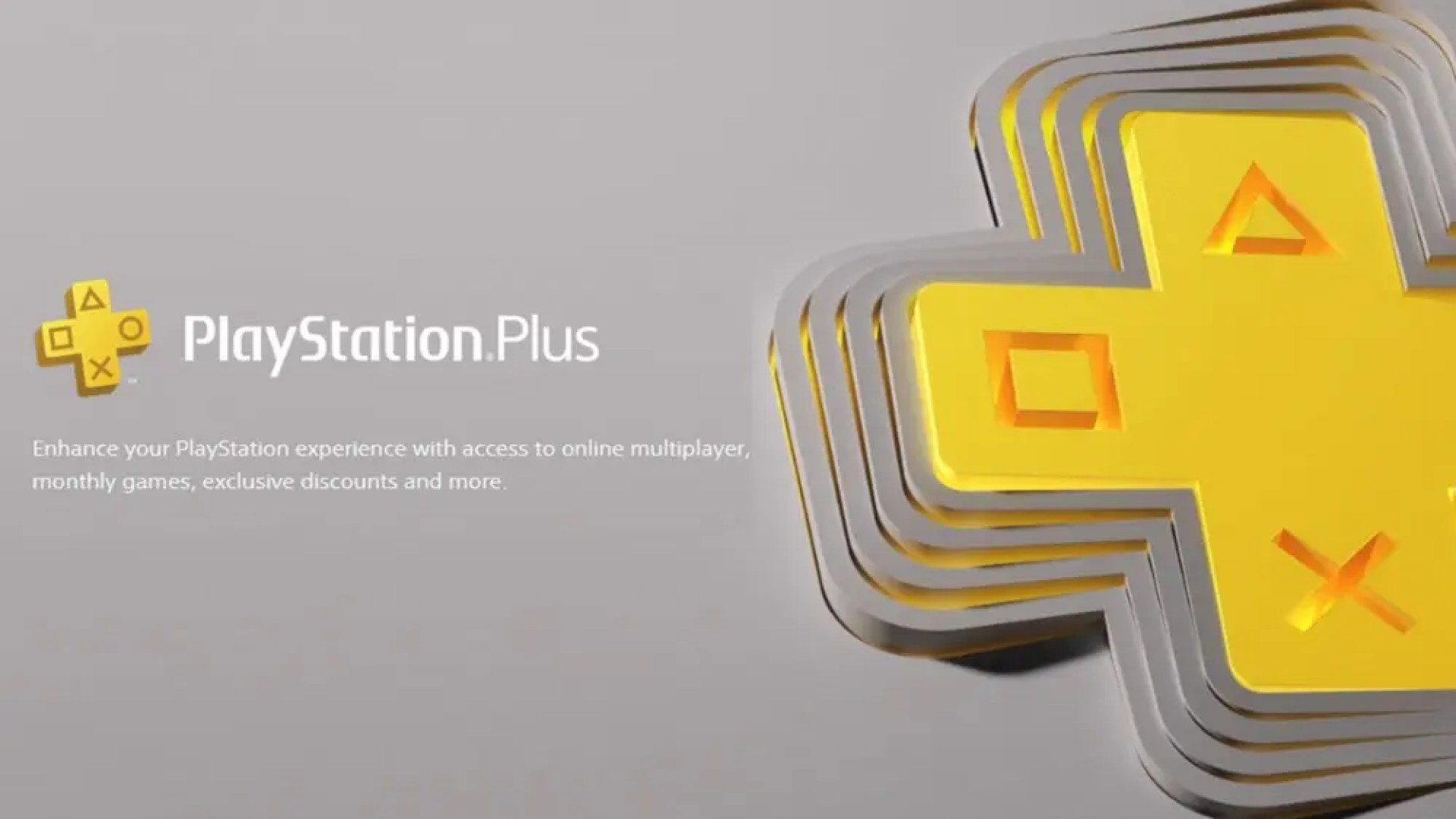 A screenshot of the PlayStation Plus website.