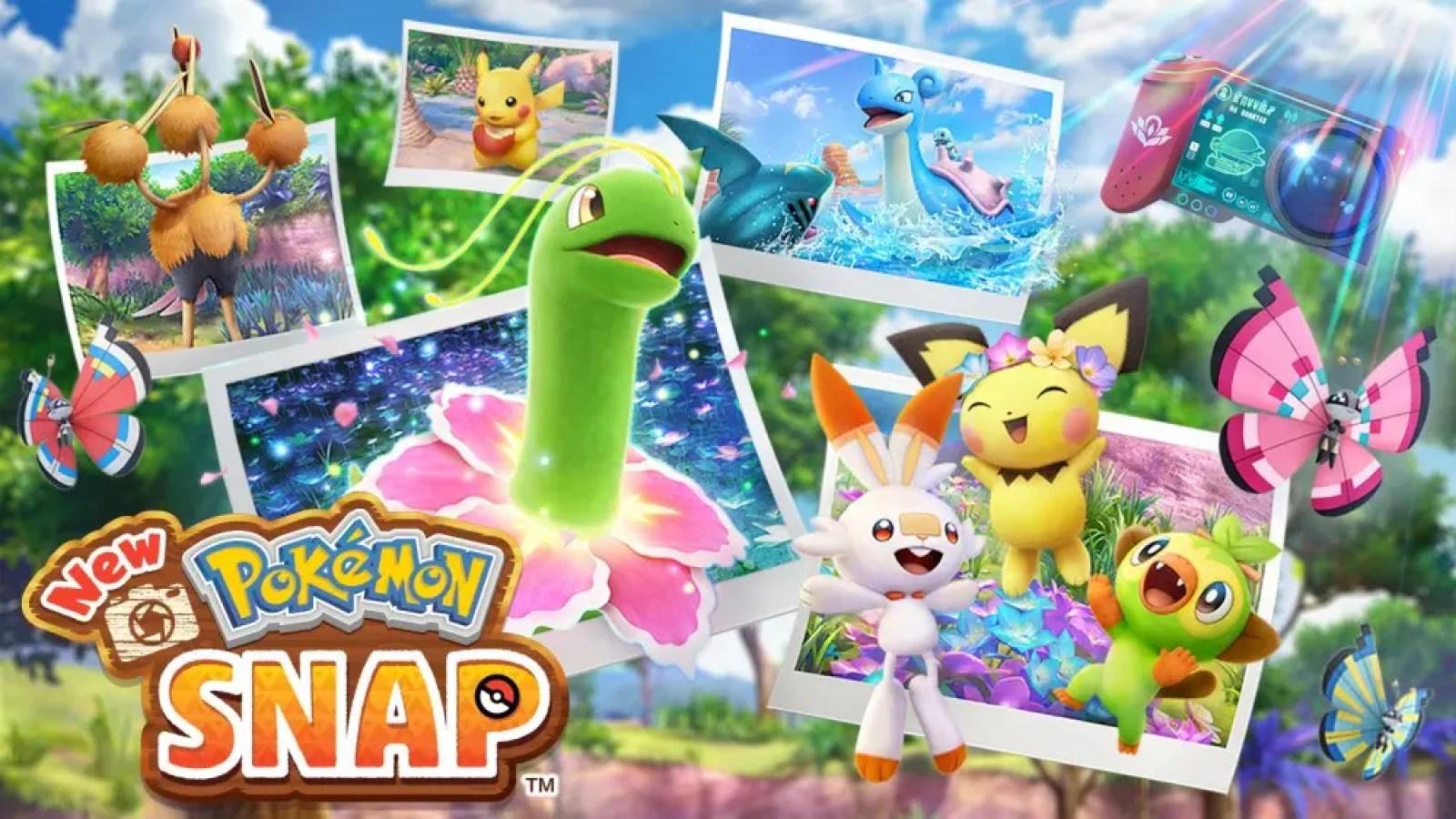 An illustration of 'New Pokemon Snap'