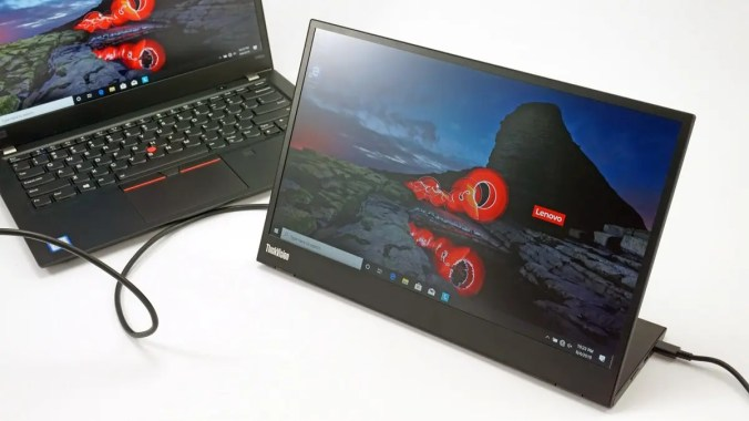 The Lenovo ThinkVision M14 Mobilizes My Multi-Monitor