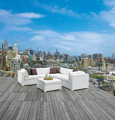 select patio furnishings that withstand