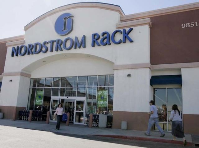 square foot nordstrom rack
