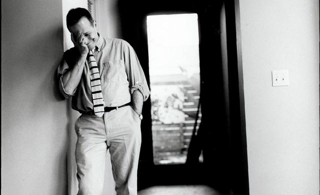 David Sedaris And Hugh Hamrick Break