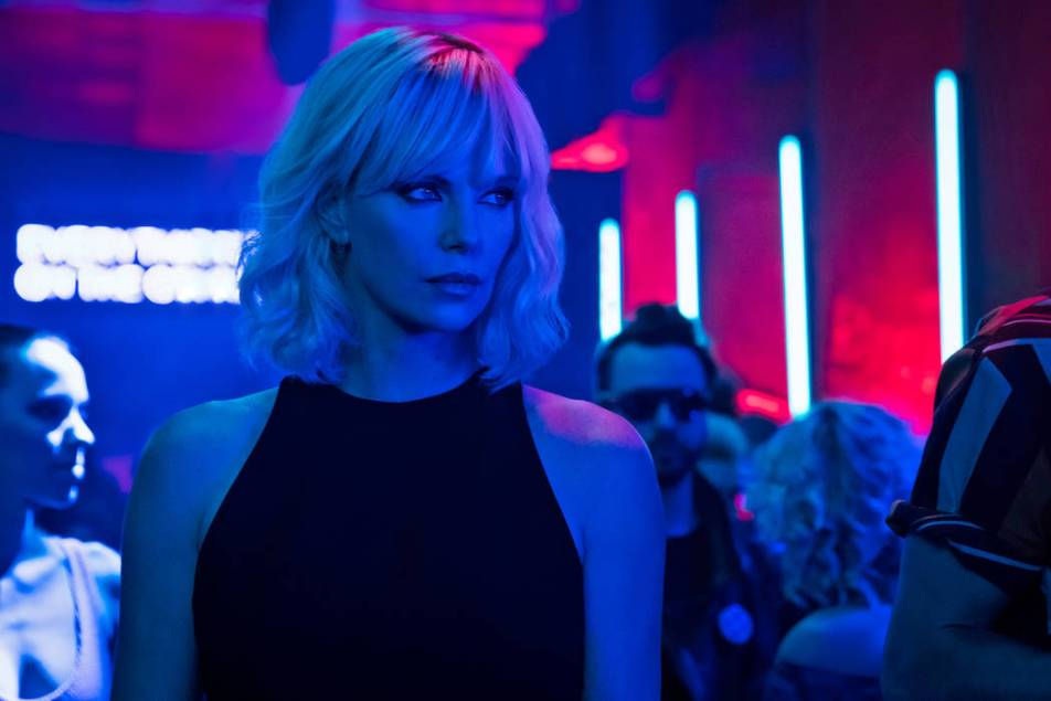 Image result for Atomic Blonde neon