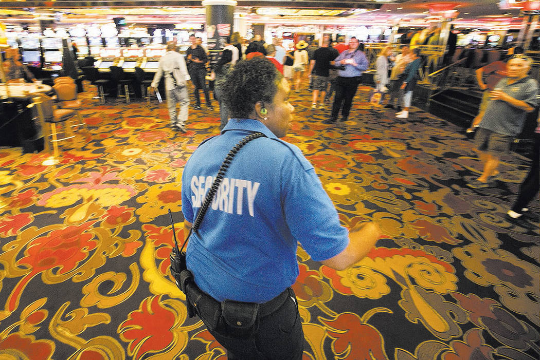 las vegas casino security jobs