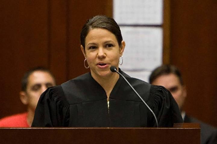 U.S. District Judge Gloria Navarro. (Las Vegas Review-Journal file)