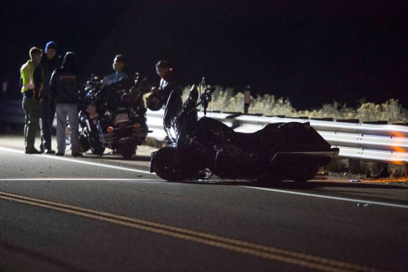 Nevada Highway Patrol Is Investigating A Deadly Crash Involving Motorcycle And Passenger Car On