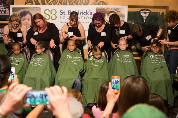 A first: St. Baldrick's co-founder shaving head for ...