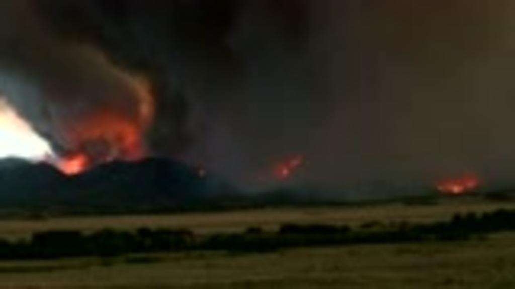Wildfires Roar Across Colorado California New Mexico