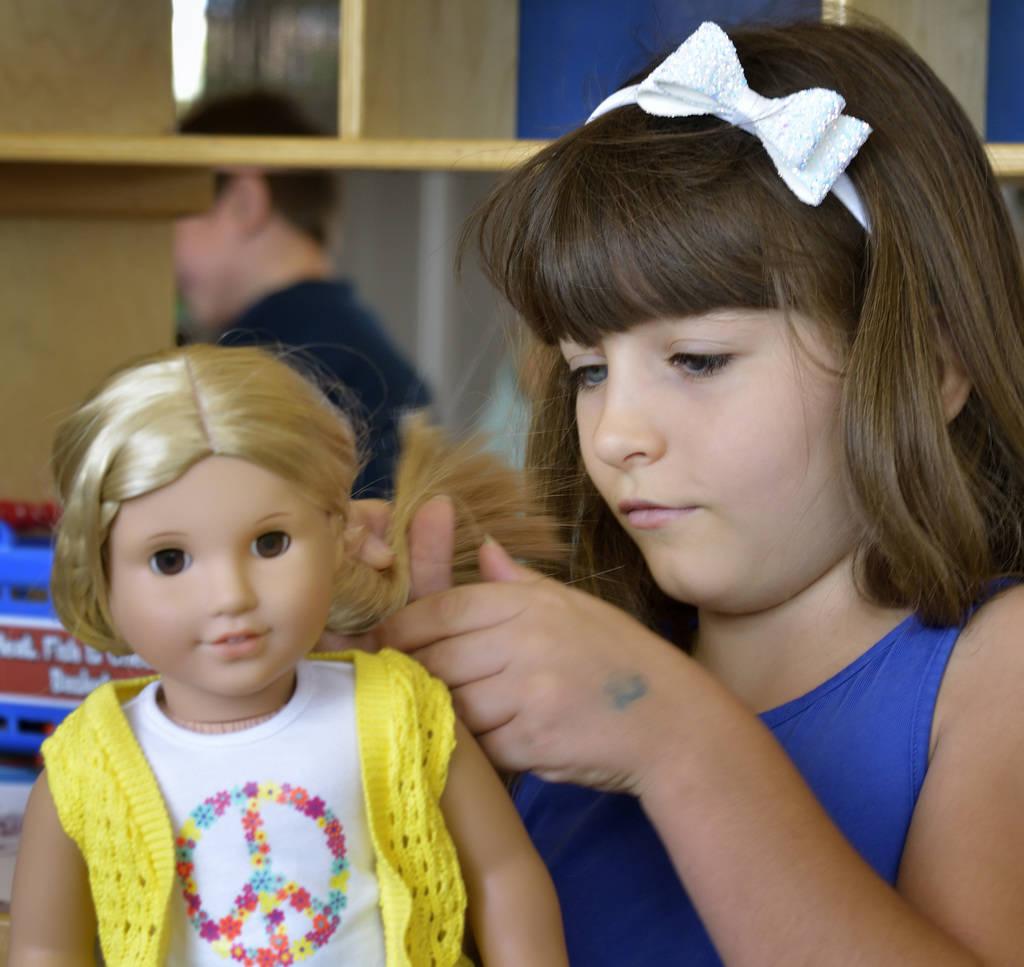 Clark County Libraries American Girl Dolls Teach History