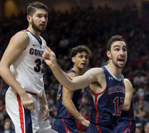 Gonzaga upset by St. Mary's in West Coast Conference ...