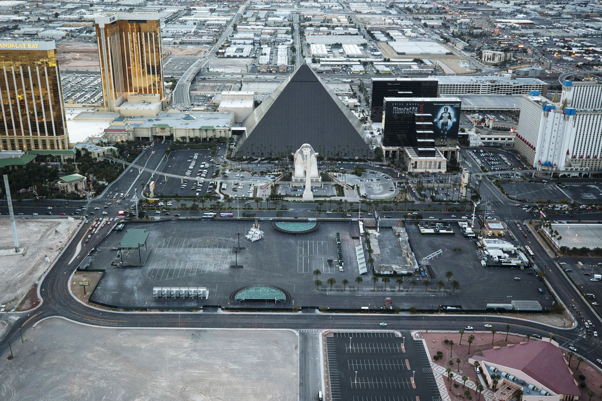 Las Vegas Shooting Site Being Converted To Community