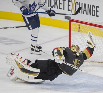 Marc-Andre Fleury's 'Save of Century' lights up social media | Las Vegas Review-Journal