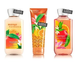 Bath & Body Works Mango Mandarin Gift Set