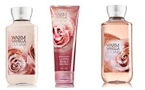 Bath and Body Works Dazzling Daily Trio Gift Set in Warm Vanilla Sugar