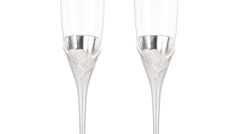 Lenox True Love Glass Flute