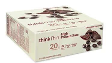 think thin protein bars