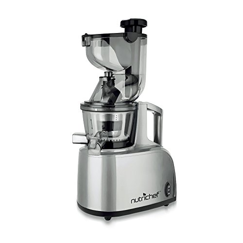 Salton Wide Mouth Low Speed Juicer Reviews : Best Masticating Juicers 2018 - Top Juice Extractors To Buy