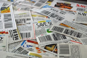 Stacked coupons