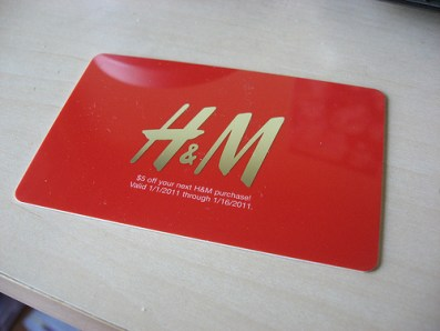 H&M Gift Cards