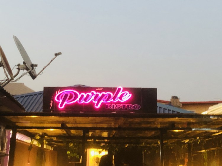 Purple Bistro Re-launch