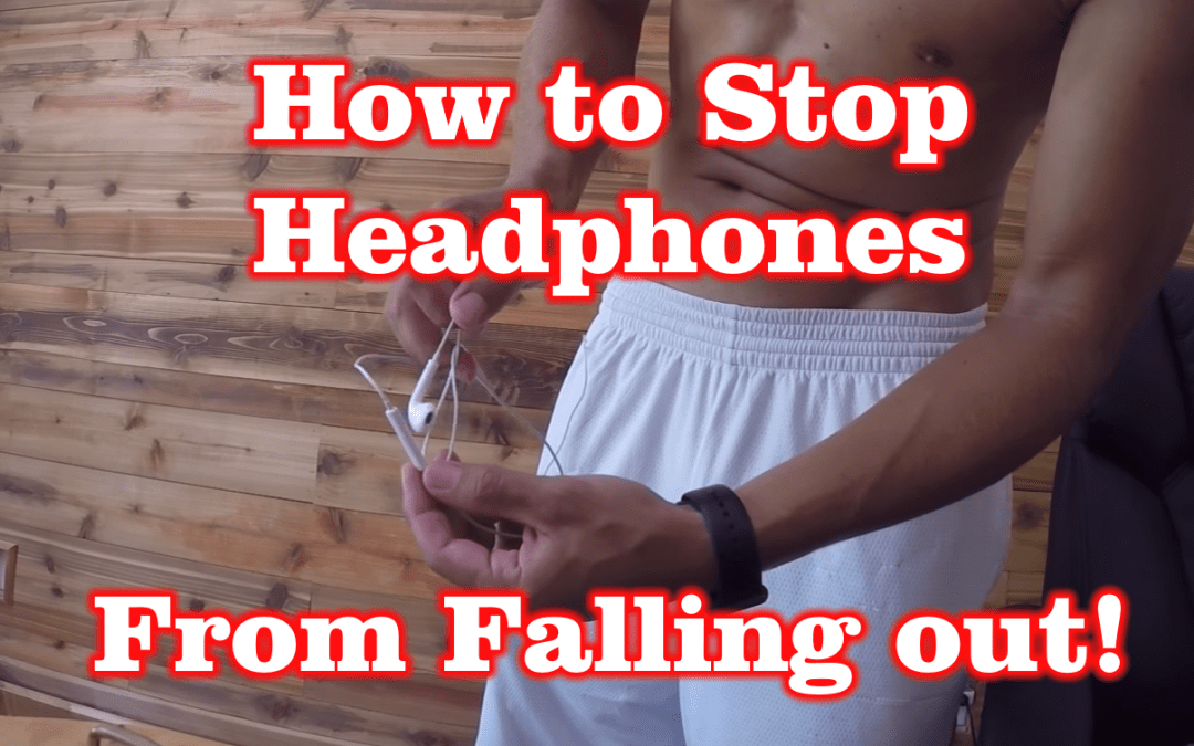 How to Stop Apple Headphones from Falling out!