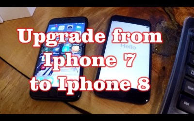 How to Transfer Data from Iphone 7 to Iphone 8 & Sim Card Swap