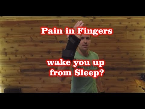 Pain in Fingers wake you up from Sleep?