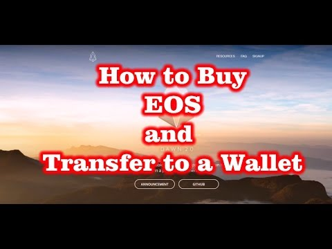 How to Buy EOS (via Gate.IO) and Transfer to Exodus Wallet