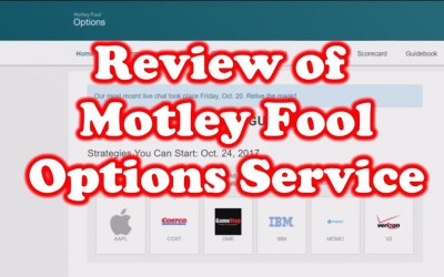 Review of Motley Fool – Options Service
