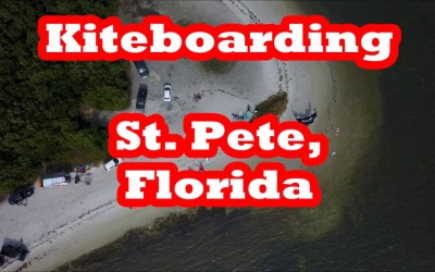 Kiteboarding in St. Pete , Florida