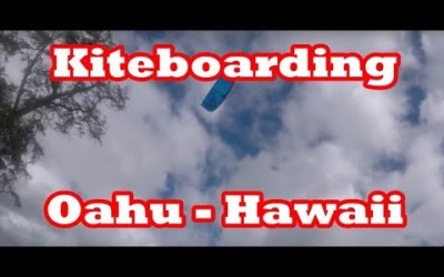 Kiteboarding in Oahu, Hawaii