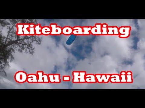 Kiteboarding in Oahu, Hawaii