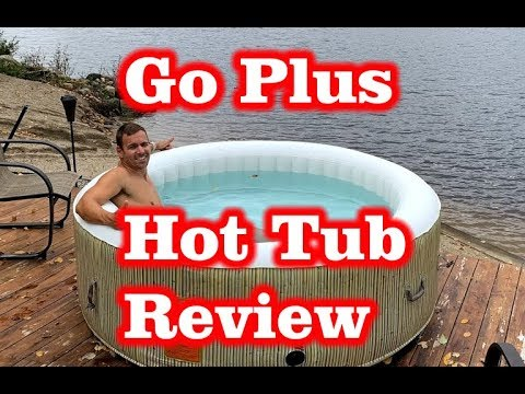 Goplus 4-6 Person Inflatable Hot Tub Review
