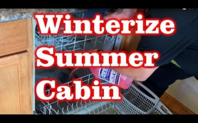 How to Winterizing a Summer Cabin