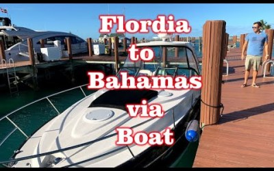Take Boat from West Palm Beach, Florida to West End, Bahamas – Across the Gulf Stream