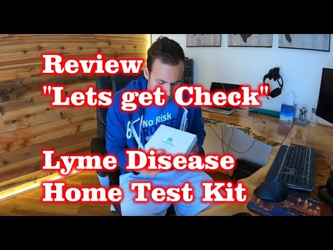 Review – Lets get Checked – Lyme Disease at Home Test Kit