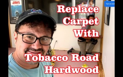 Simple Steps to Replace Carpet with Hardwood Flooring – Timelapse – Lumber Liquidators Tobacco Road