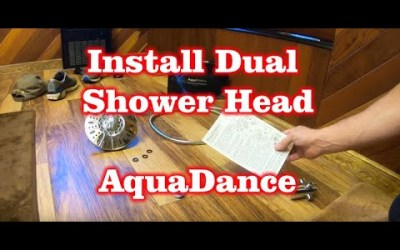 Install a Dual Shower Head AquaDance in your Shower